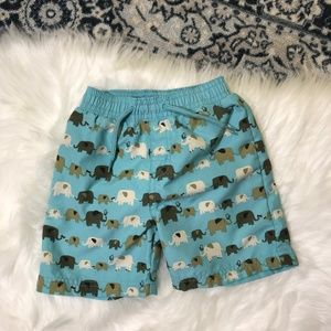 Gymboree elephant swim trunks 6-12 months